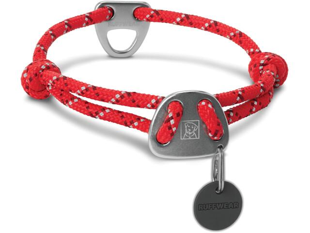 Ruffwear Knot-a-Collar, red currant